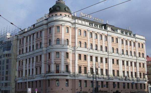 Offices for rent in historic building on Tverskaya