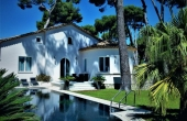 Beautiful villa in quiet location close to the beach in Cap d'Antibes