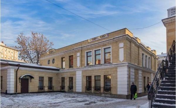 Palazzetto accostato bilivello di 484 mq in elegante complesso zona Krasnye Vorota