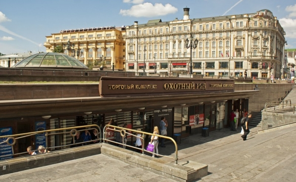 Centro commerciale Okhotny Ryad, spazi commerciali in affitto