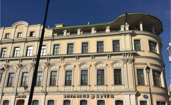 Ufficio di 105 mq in affitto sulla Pokrovka
