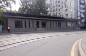 Stand-alone building for showroom, offices or café near metro Mar'ina Roshcha
