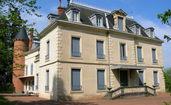 19th-century chateau for sale in the Loire department
