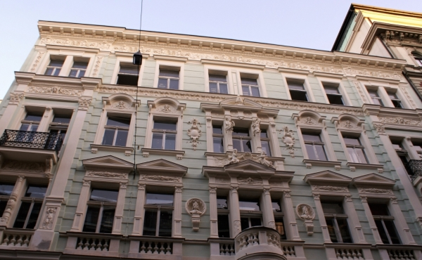 Luxurious apartments for sale in elegant early 20th-century building in Prague 1