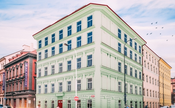 One-room partments for sale in renovated building in Prague 1