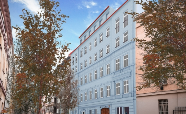 Apartments for sale in 19th-century building in Vinohrady district