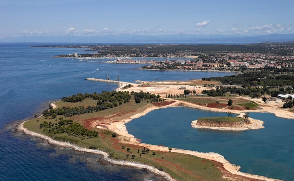 Seaside resort development project on the Istrian coast