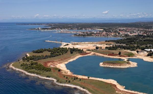 Seaside resort development project on the Istrian coast