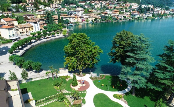 Luxury residences for sale on Lake Lugano