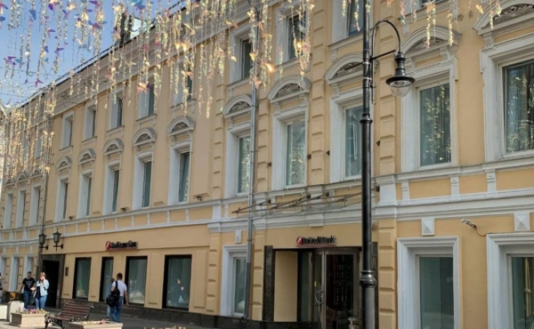 Retail- or office street-facing premises on Bol'shaya Dmitrovka
