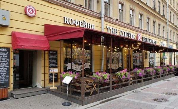 Spazio per ristorazione in zona pedonale in centro a San Pietroburgo