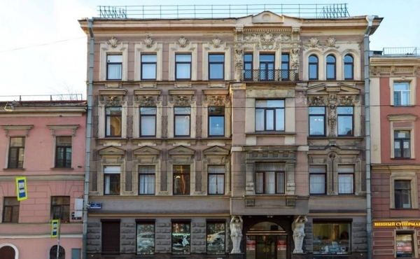 Office building (2000 m2) for rent on Lermontovsky Prospekt