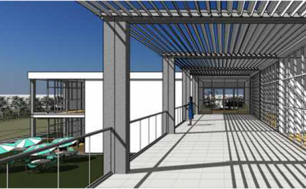 Land with project approved for a care home on the coast of Portugal
