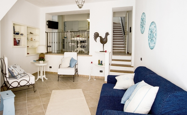 Duplex apartment in the center of Carloforte (Sardinia)