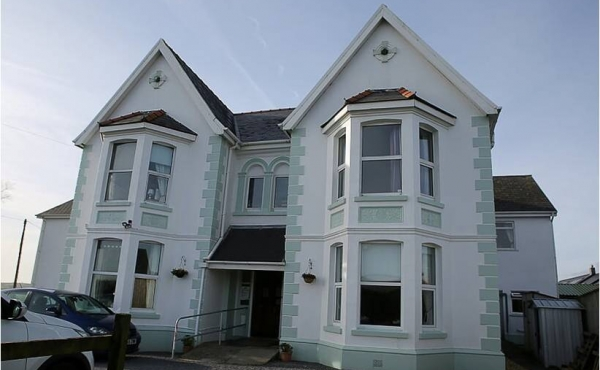 Investments with guaranteed returns in a nursing home near Carmarthen in Wales