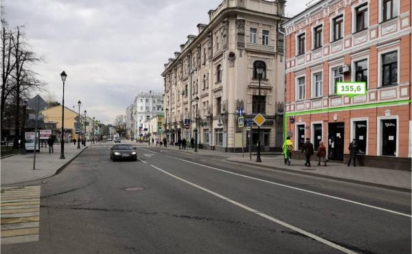 Spazio di 155,6 m2 per ristorazione sulla Pokrovka
