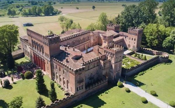 Величественный замок эпохи Возрождения в Ломбардии