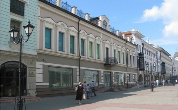 Semi-detached commercial building for sale in the heart of Kazan