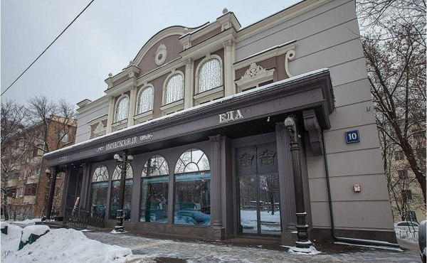 Elegant stand-alone building for rent in the West of Moscow