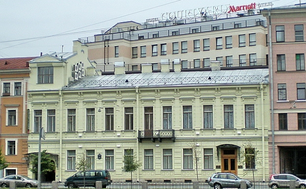 Исторический особняк на продажу на набережной канала Грибоедова