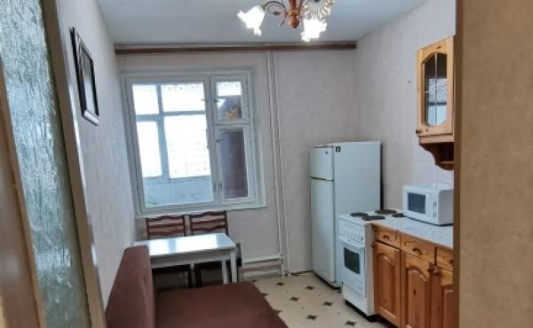 Однокомнатная квартира под ремонт с прекрасными видами на Москву