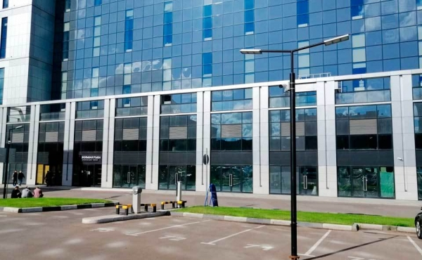 Spazio per ristorazione in complesso multifunzionale a breve distanza da Moscow City